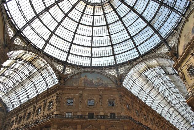 Hoe was je de ramen van Galleria Vittorio Emanuele