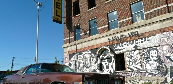 Down and out in Corktown, Detroit
