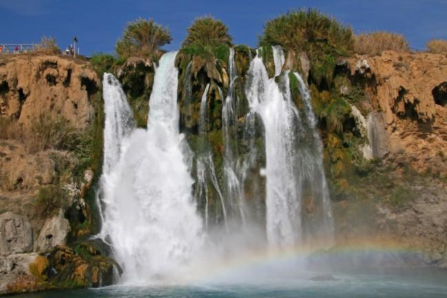 Onderste Düden waterval Antalya