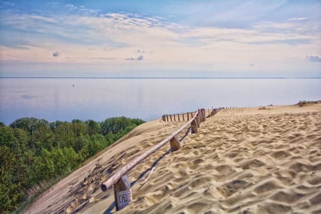 Rust en ruimte op het strand van de Koerse Schoorwal