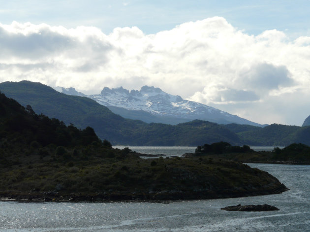 De Wulaia Baai van Isla Navarino