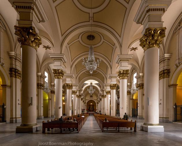 Binnen in Catedral Primada