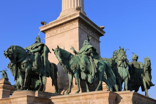 Prins Árpád en de zeven stamhoofden