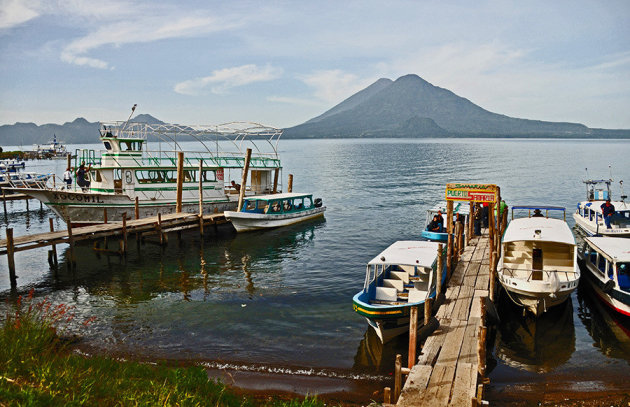 Lago d'Átitlán