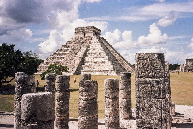 Pilaren voor pyramide