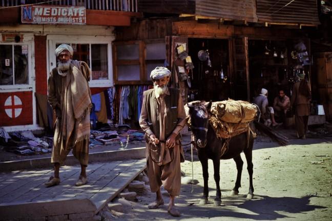 Handelaars in Kangan