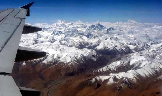 over de Himalaya