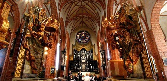 Kerkkoor in de Kathedraal van Stockholm