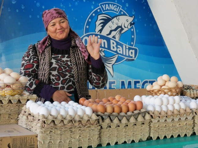 De schoonheid van een ei
