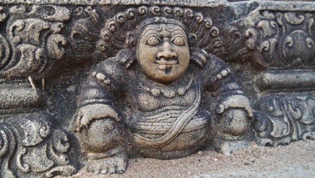 versierde traptreden Anuradhapura