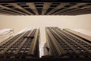 Wandelen door Financial District NYC