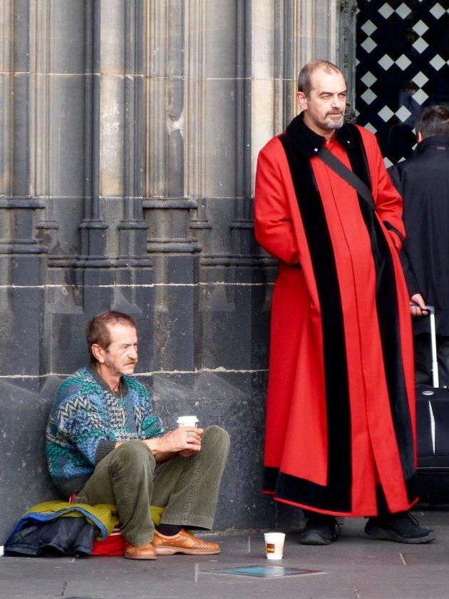 De priester en de bedelaar