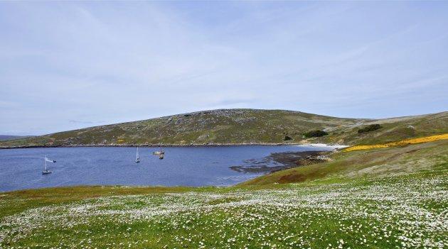 baai bij West Point eiland