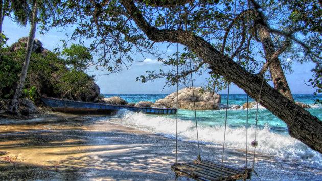 Paradijs op Sai Nuan Beach
