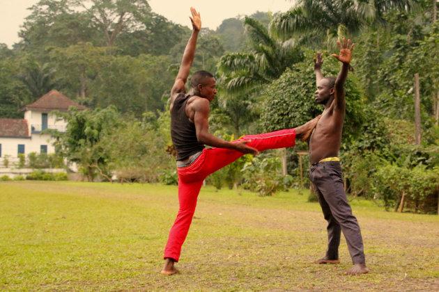 Capoeira op Sao Tomé