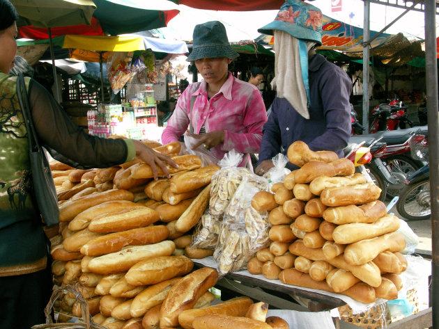 Stokbrood in Cambodja