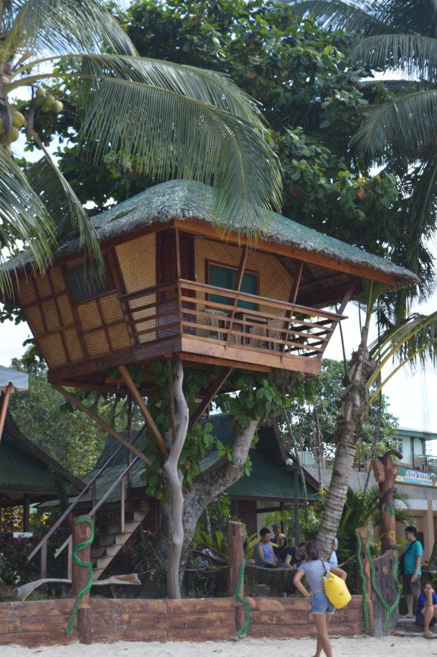 Gaaf treehouse in Port Barton!
