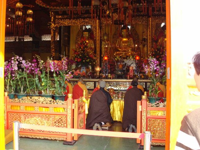 biddende monniken