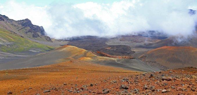 Haleakala vulkaankrater
