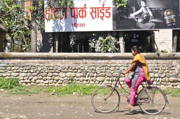 fietsen in Sauraha