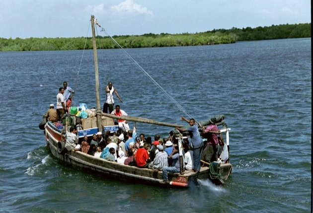 Vervoer naar Lamu