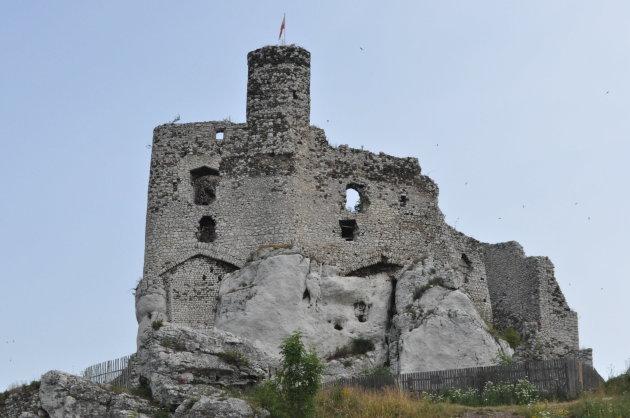 Ruine kasteel van Mirow
