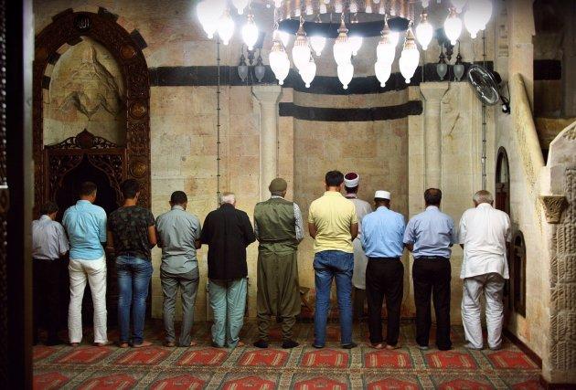 moskee bezoek