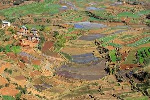 Terrassenbouw in Madagaskar