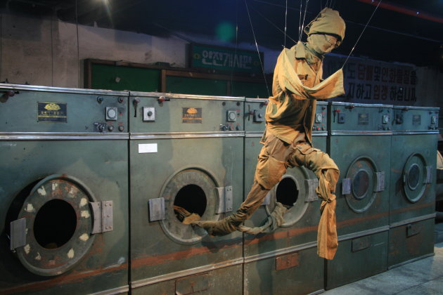 Klein wasjes grote wasjes