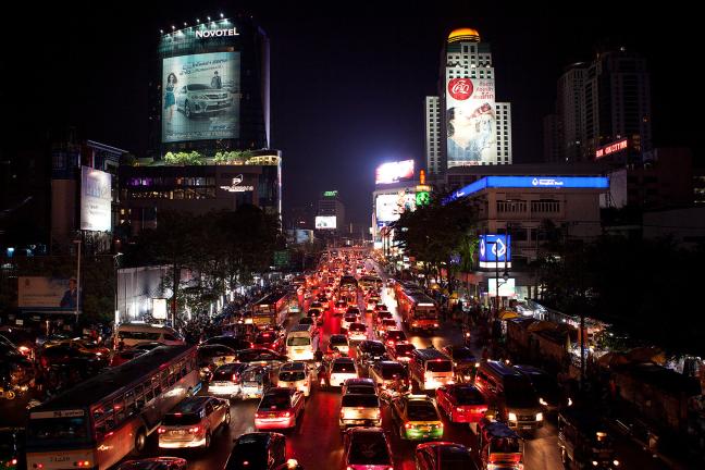 Chaos in Bangkok