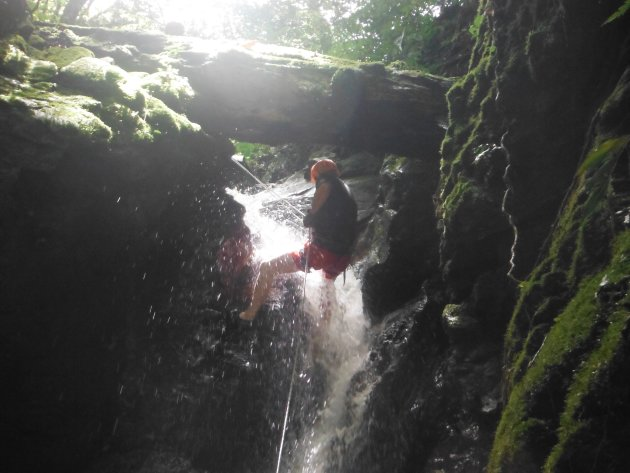Abseilen in watervallen - Santa Elena (Monteverde)