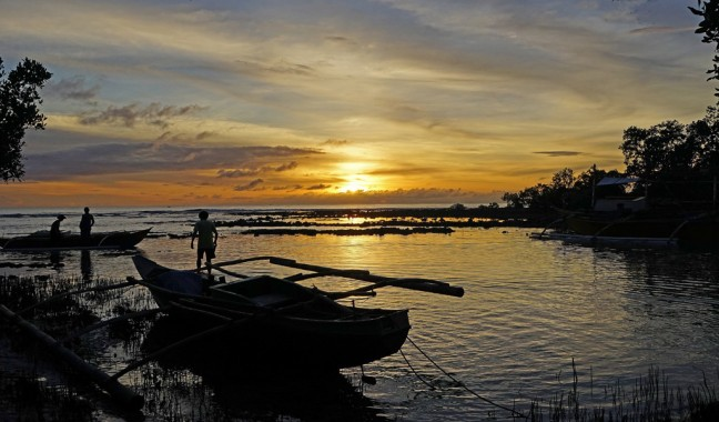 Anini-y sunset,Philippines