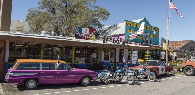 Route 66 in Seligman