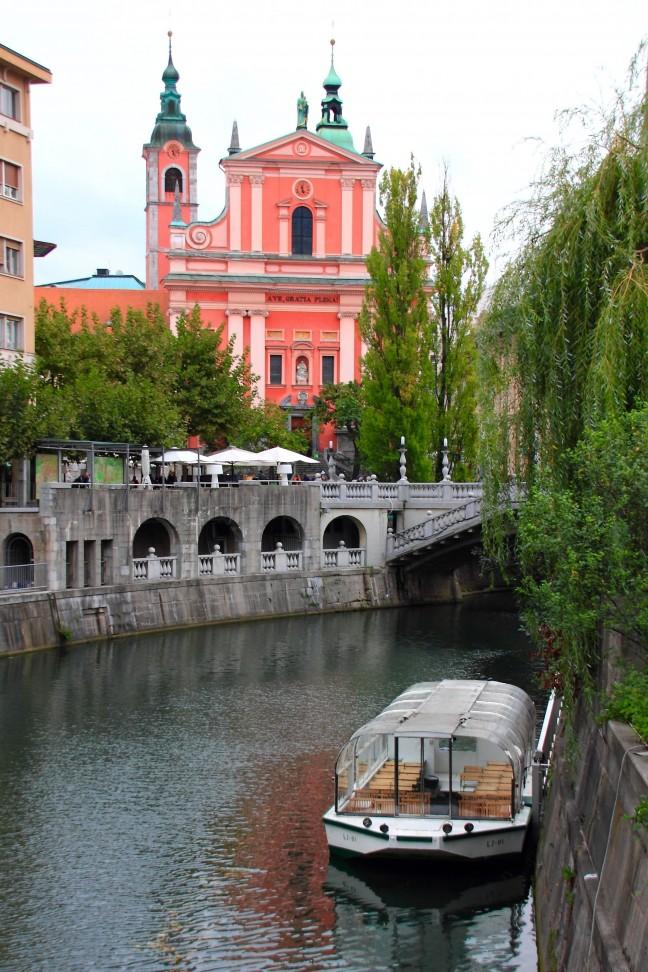 De echte stad der liefde Ljubljana!