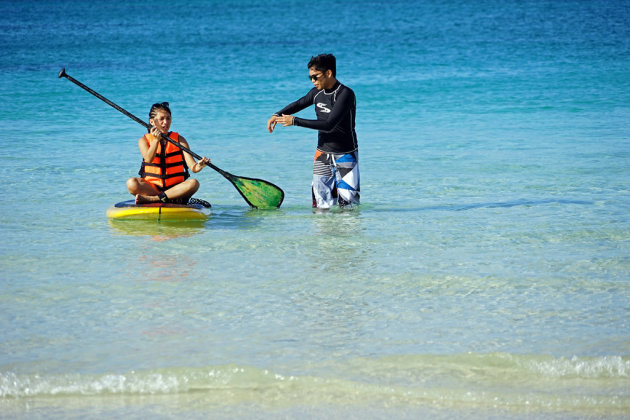 leren surfen : Boracay