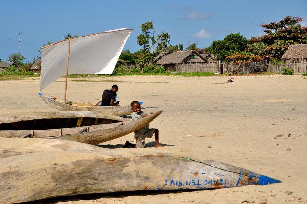 Strandleven in Mahanoro