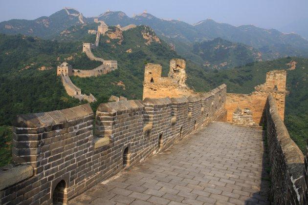 De muur bij Jinshanling