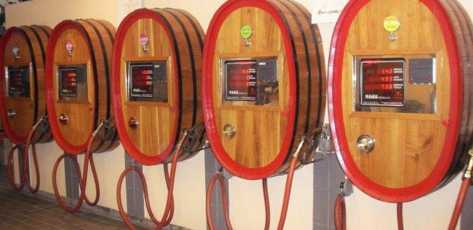 Wijntankstation