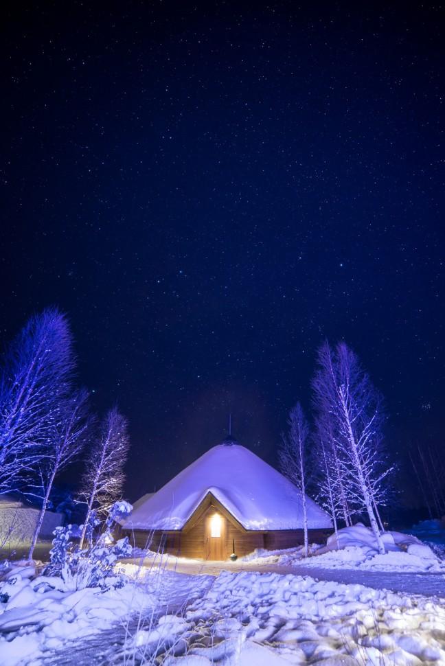 Kota restaurant, Arctic Snow Hotel, Sinetta, Finland