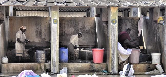 De wasserij