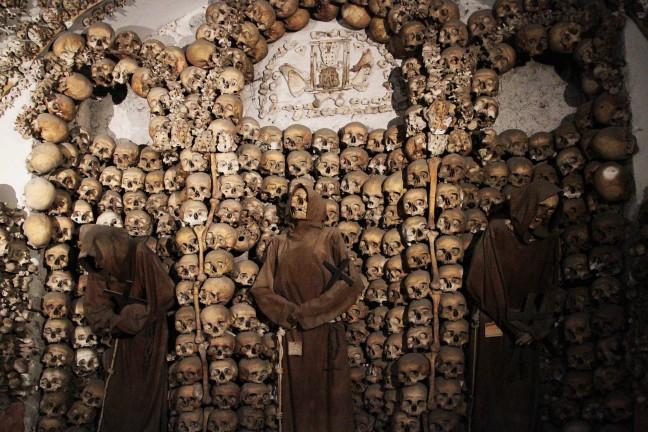 Onder de Santa Maria della Concezione dei Cappuccini