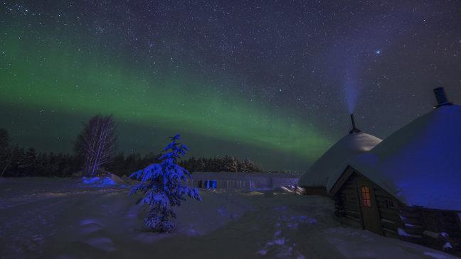 Noorderlicht, Lapland, Finland