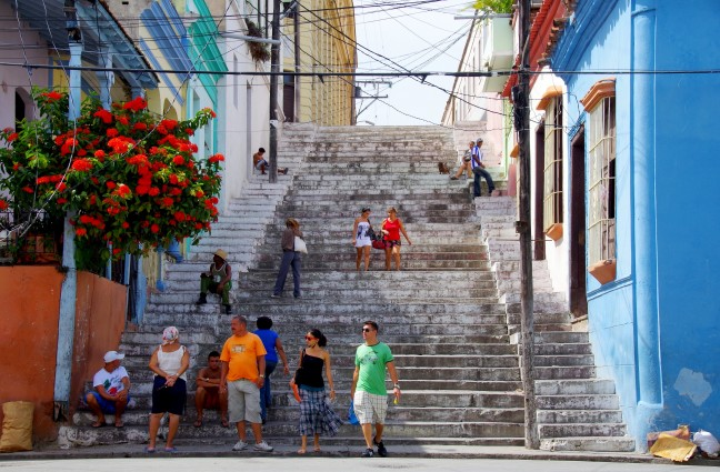 De trappen van Padre Pico