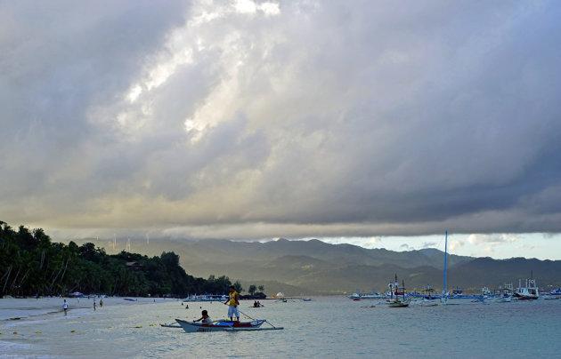 Ochtend op Boracay