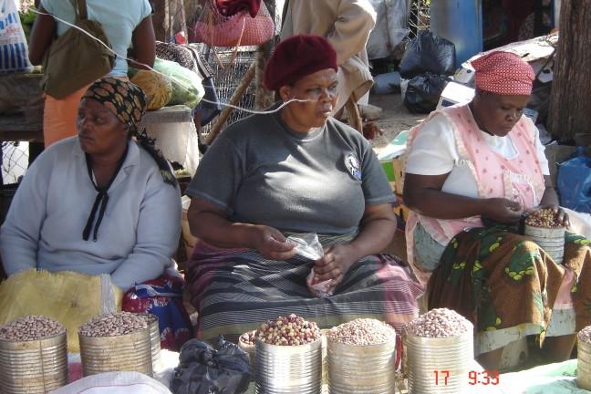 Swazi markt in Mbabane