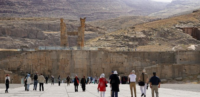 The greatest party on earth in Persepolis