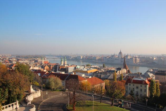 heuvels van Boedapest