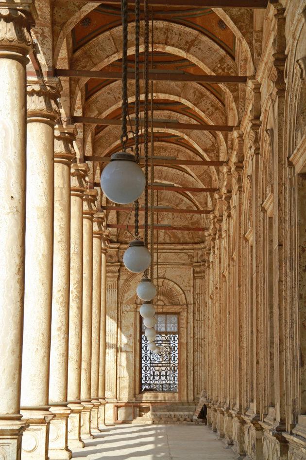 Galerij moskee Mohammed Ali Caïro