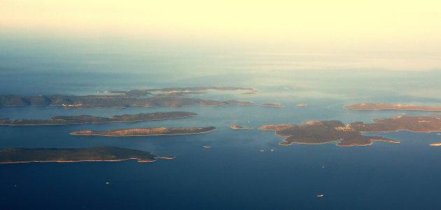 Eilandenrijk voor de Kroatische kust