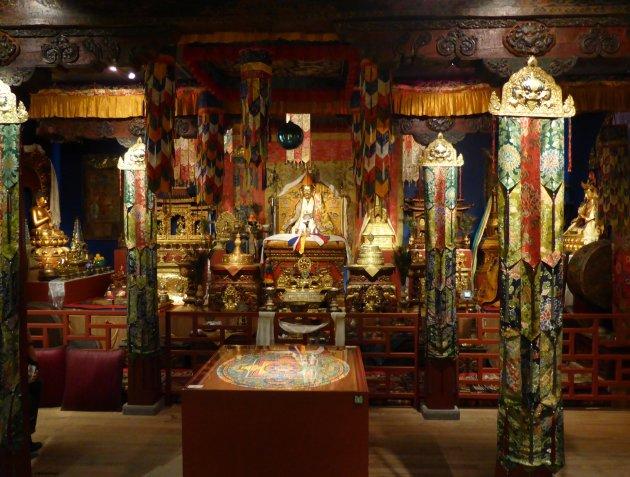 Tibetaanse tempelexpositie in Nederland